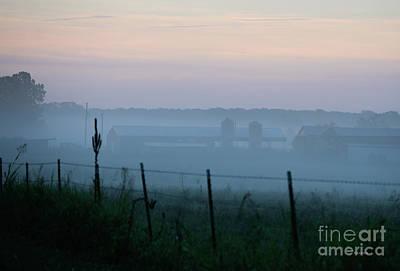Giuseppe Cristiano - Fog At The Farm by Diane Friend