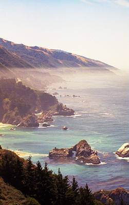 Photograph - Fog Big Sur by John Schneider