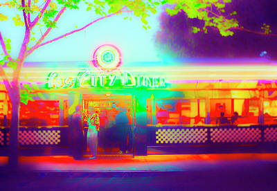 Photograph - Fog City Diner II by Jan W Faul