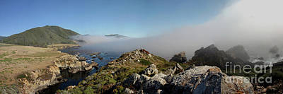 Photograph - Fog Creeping Over Rocky Point July 2011 by California Views Mr Pat Hathaway Archives