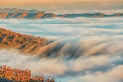 Photograph - Fog Flow Below by Marc Crumpler