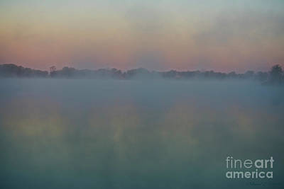 Photograph - Fog From The Water by David Arment