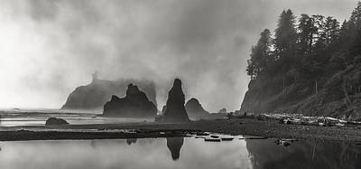 Olympic National Park Photograph - Fog In Force by Jon Glaser