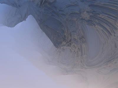 Fog In The Cave Art Print