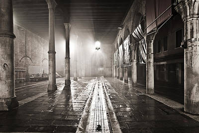 Photograph - Fog In The Market by Marco Missiaja