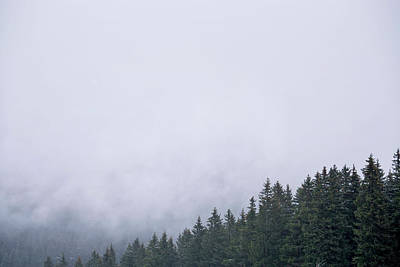 Photograph - Fog  In The Mountains by Andrew Proudlove