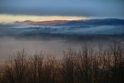 Photograph - Fog In The Valley 4 by Kathryn Meyer