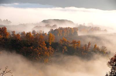 Photograph - Fog In Umbria by Francois Dumas