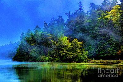 Photograph - Fog Lake by Rick Bragan