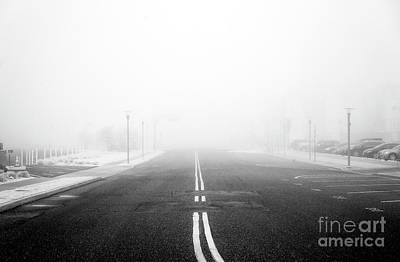 Photograph - Fog On Asbury Avenue by John Rizzuto