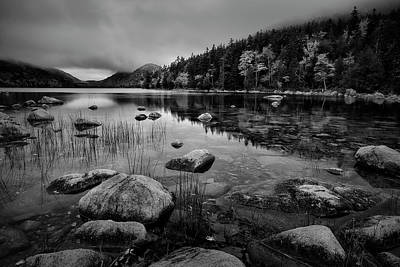 Photograph - Fog On Bubble Pond by Jon Glaser