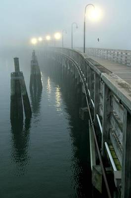 Playlands Photograph - Fog On Deck by Diana Angstadt