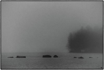 Photograph - Fog On Long Pond by John Meader