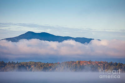 Photograph - Fog On Moosehead Lake by Susan Cole Kelly