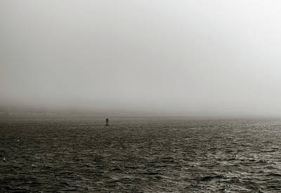 Photograph - Fog On The Bay by Alex Lapidus