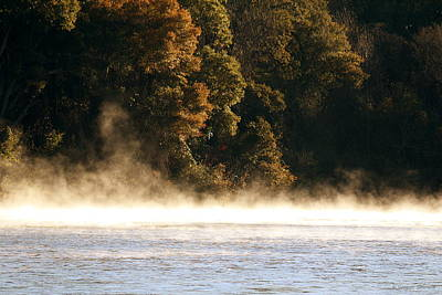 Photograph - Fog On The Catawba by Greg Simmons
