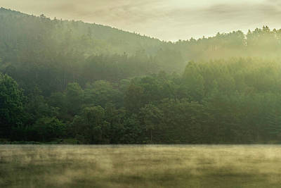 Photograph - Fog On The Lake by Andrew Proudlove