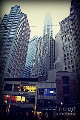 Frank J Casella Royalty-Free and Rights-Managed Images - Fog on the Mile  by Frank J Casella