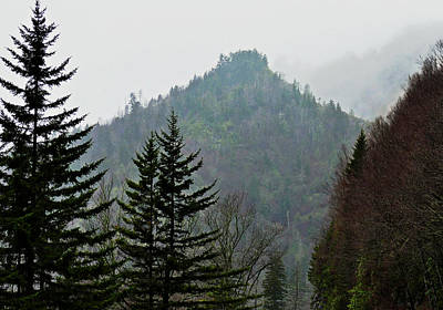 Photograph - Fog On The Mountain by David Frankel