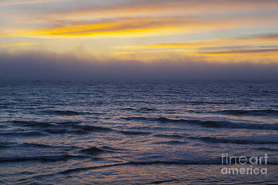 Photograph - Fog On The Ocean Horizon by Sharon Foelz