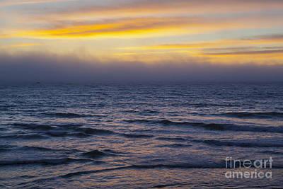 Cambria Photograph - Fog On The Ocean Horizon by Sharon Foelz