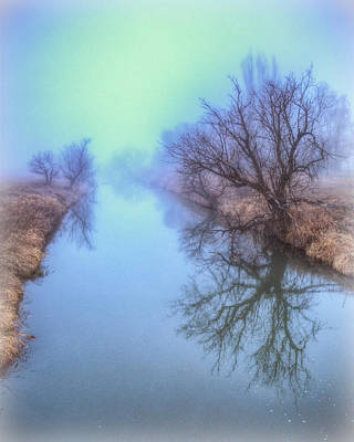 Photograph - Fog On The Redwater by Fiskr Larsen