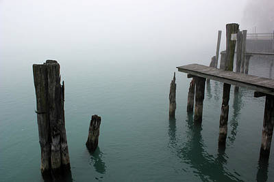 Photograph - Fog On The River 50 by Mary Bedy
