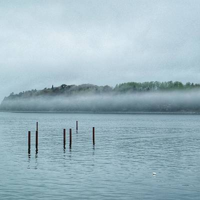 Photograph - Fog On Water  by Joseph Caban
