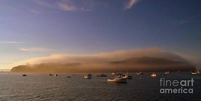 Photograph - Fog Over Porcupine Island by Lennie Malvone
