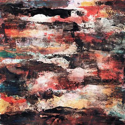 Painting - Fog Over Ruins by Daniel Ferguson