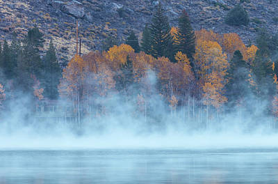 Photograph - Fog Over Silver Lake by Jonathan Nguyen