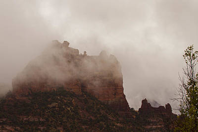 Photograph - Fog Over Snoopy Rock by Tom Kelly