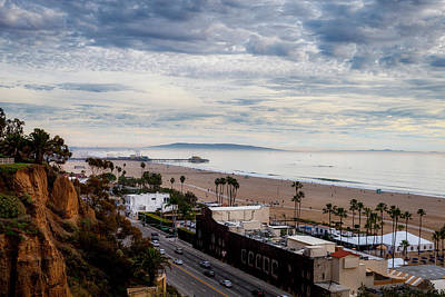 Rollercoaster Photograph - Fog Over The Bay by Gene Parks