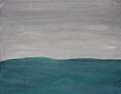 Painting - Fog Over The Ocean by Lynn-Marie Gildersleeve