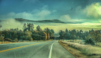 Photograph - Fog Over The Valley by Jane Luxton