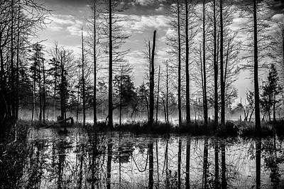New Jersey Pine Barrens Photograph - Fog Rising From The River by Louis Dallara