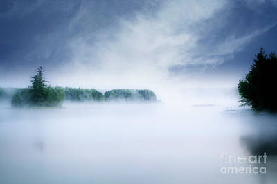 Photograph - Fog Rising by Scott Kemper