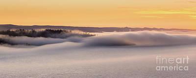 Fog Shovel Print by Ernesto Ruiz
