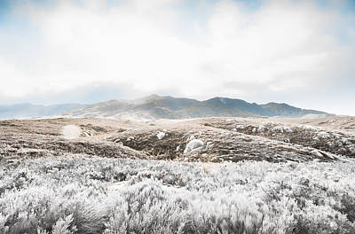 Fog Snow And Ice Landscape Art Print by Jorgo Photography - Wall Art Gallery