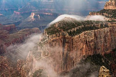Photograph - Fog Trail by Chuck Jason