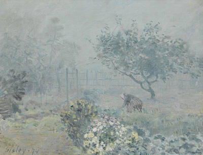 Painting - Fog, Voisins by Alfred Sisley
