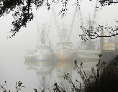 Photograph - Fogged In by Deborah Smith