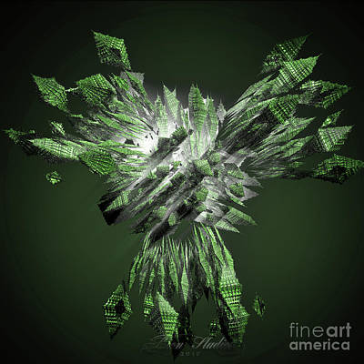 Digital Art - Foggie Diamonds by Melissa Messick