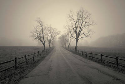 Photograph - Foggy Afternoon I Toned by David Gordon