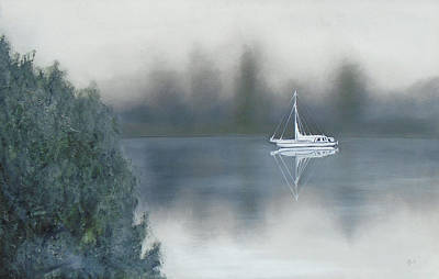 Painting - Foggy by Angela Stout