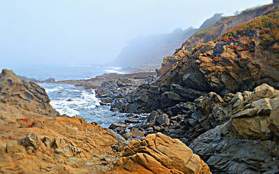 Photograph - Foggy At Moonstone Beach - Cambria by Glenn McCarthy Art and Photography