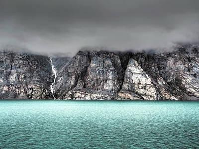 Baffin Island Photograph - Foggy Baffin Island by Jennifer Latuperisa-Andresen