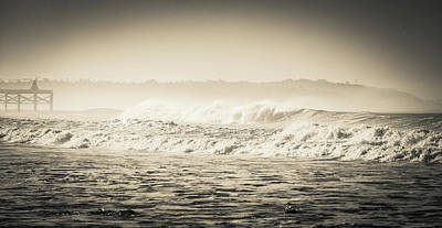 Photograph - Foggy Break by T Brian Jones