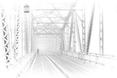 Beautiful Scenery Photograph - Foggy Bridge by Raphael Ean