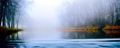 Photograph - Foggy Creek Panorama by Bonfire Photography